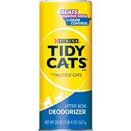 Tidy Cats Litter Box Deodorizer for Multiple Cats, 20-oz