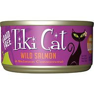 Tiki Cat Hanalei Luau Wild Salmon in Salmon Consomme Canned Cat Food, 2.8-oz, case of 12
