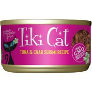Tiki Cat Lanai Grill Tuna in Crab Surimi Consomme Canned Cat Food, 2.8-oz, case of 12