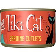 Tiki Cat Tahitian Grill Sardine Cutlets Canned Cat Food, 2.8-oz, case of 12