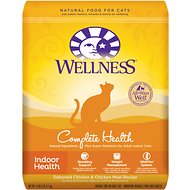 Wellness Complete Health Indoor Health Deboned Chicken & Chicken Meal Recipe Dry Cat Food, 11.5-lb bag