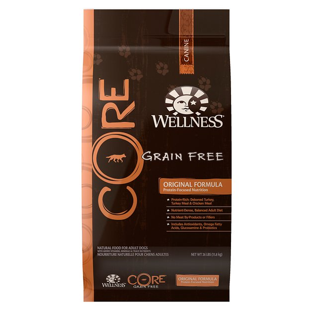 Wellness Core Grain Free Original Formula Dry Dog Food 26