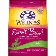 Wellness Small Breed Complete Health Adult Turkey & Oatmeal Recipe Dry Dog Food, 12-lb bag