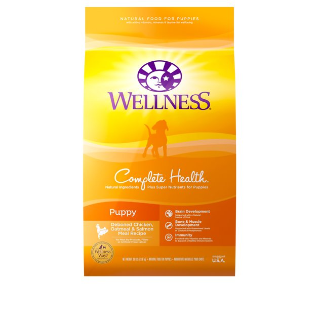 Wellness Complete Health Puppy Deboned Chicken Oatmeal