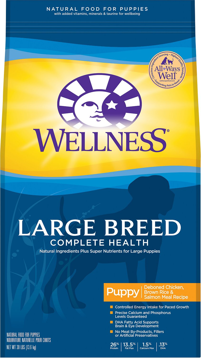 Wellness Large Breed Complete Health Puppy Deboned Chicken