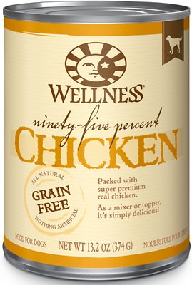7. Wellness Ninety-Five Percent Canned Dog Food Topper