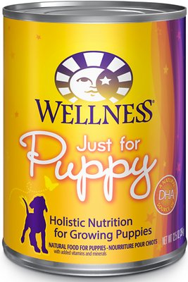 9. Wellness Complete Health Just for Puppy Canned Dog Food