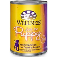 Wellness Complete Health Just for Puppy Canned Dog Food, 12.5-oz, case of 12