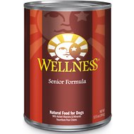 Wellness Complete Health Senior Formula Canned Dog Food, 12.5-oz, case of 12