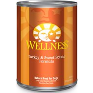 Wellness Complete Health Turkey & Sweet Potato Formula Canned Dog Food, 12.5-oz, case of 12