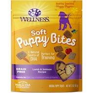 Wellness Soft Puppy Bites Lamb & Salmon Recipe Dog Treats, 3-oz