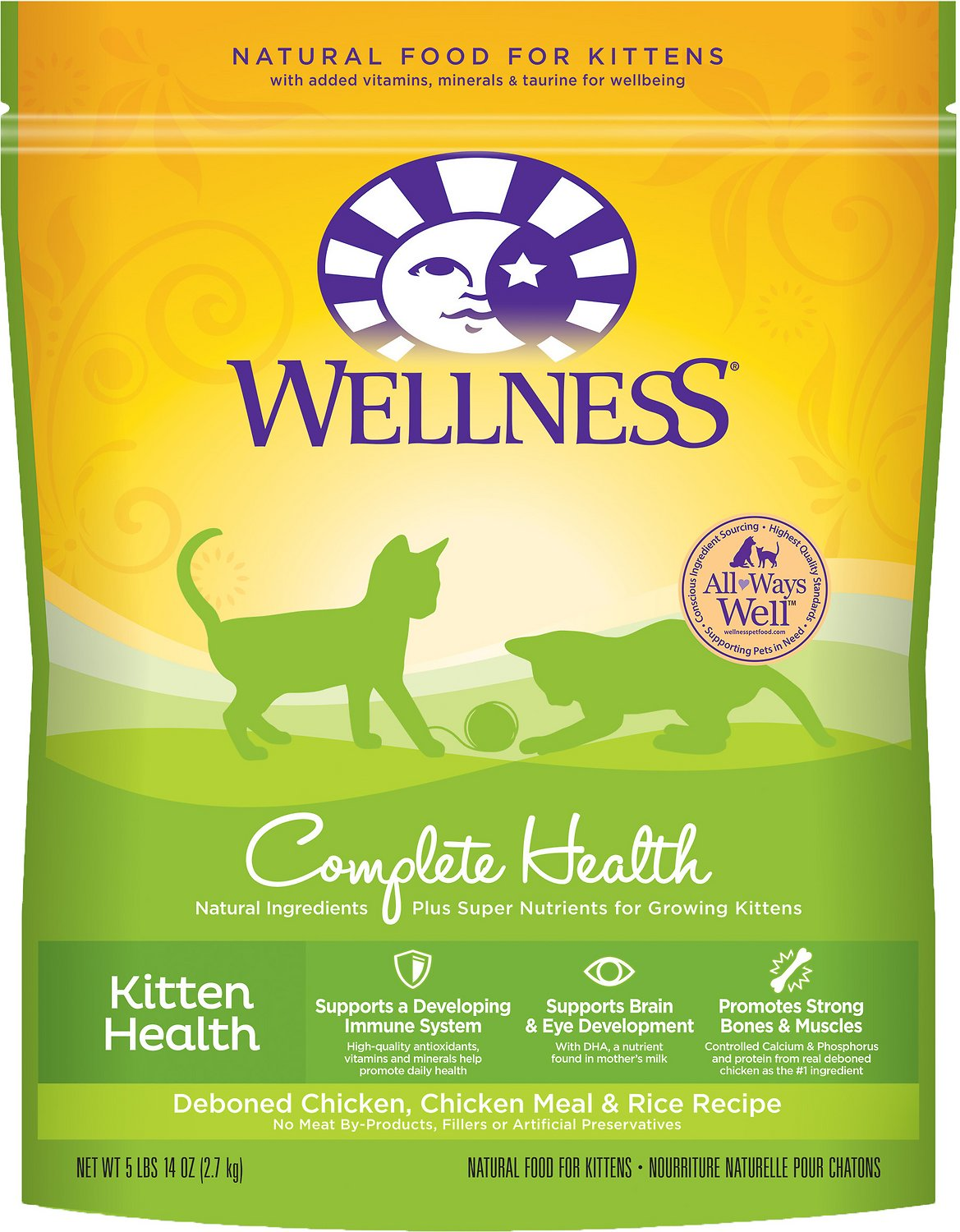 Wellness Kitten Food Food