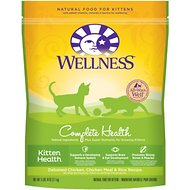 Wellness Complete Health Kitten Health Deboned Chicken, Chicken Meal & Rice Recipe Dry Cat Food, 5.9-lb bag