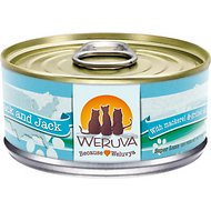 Weruva Mack and Jack with Mackerel & Grilled Skipjack Grain-Free Canned Cat Food, 5.5-oz, case of 24