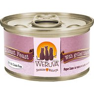 Weruva Mideast Feast with Grilled Tilapia in Gravy Grain-Free Canned Cat Food, 3-oz, case of 24