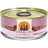 Weruva Mideast Feast with Grilled Tilapia in Gravy Grain-Free Canned Cat Food, 5.5-oz, case of 24