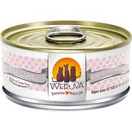Weruva Nine Liver with Chicken & Chicken Liver in Gravy Grain-Free Canned Cat Food, 5.5-oz, case of 24