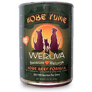 Weruva Kobe Yume Kobe Beef Formula with Organic Chicken & Organic Turkey Canned Dog Food, 12.8-oz, case of 12