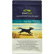 ZiwiPeak Daily-Dog Venison & Fish Cuisine Grain-Free Air-Dried Dog Food, 2.2-lb bag