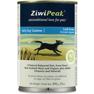 ZiwiPeak Daily-Dog Cuisine Lamb Canned Dog Food, 13-oz, case of 12