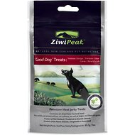 ZiwiPeak Good-Dog Venison Jerky Dog Treats, 3-oz bag
