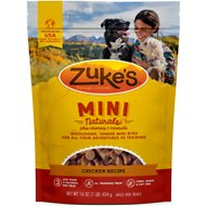 Zuke's Mini Naturals Roasted Chicken Recipe Dog Treats, 1-lb bag