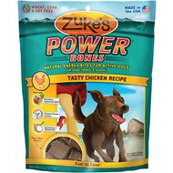 Zuke's Power Bones Tasty Chicken Recipe Dog Treats, 6-oz