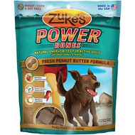 Zuke's Power Bones Fresh Peanut Butter Formula Dog Treats, 6-oz