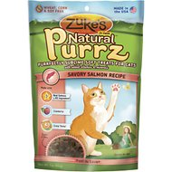 Zuke's Natural Purrz Savory Salmon Recipe Cat Treats, 3-oz