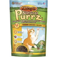 Zuke's Natural Purrz Tender Chicken Recipe Cat Treats, 3-oz
