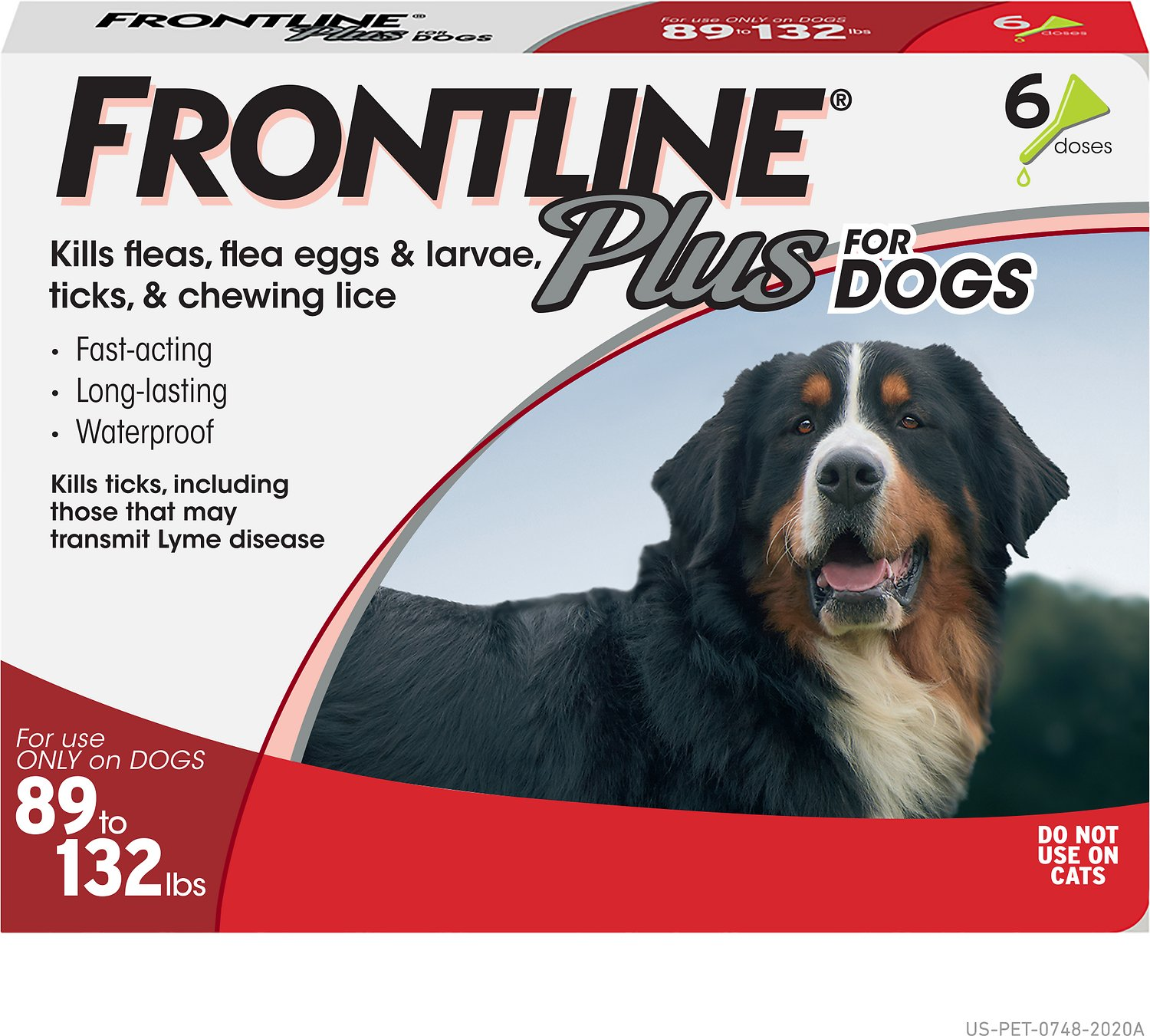 frontline plus ingredients. Frontline Plus Flea \u0026 Tick Treatment For Dogs, 89-132 Lbs, 6 Treatments - Chewy.com Ingredients O