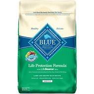 Blue Buffalo Life Protection Formula Adult Lamb & Brown Rice Recipe Dry Dog Food, 30-lb bag