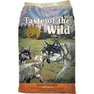 Taste of the Wild High Prairie Puppy Formula Grain-Free Dry Dog Food, 30-lb bag