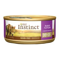 Nature's Variety Instinct Grain-Free Rabbit Formula Canned Cat Food, 5.5-oz, case of 12