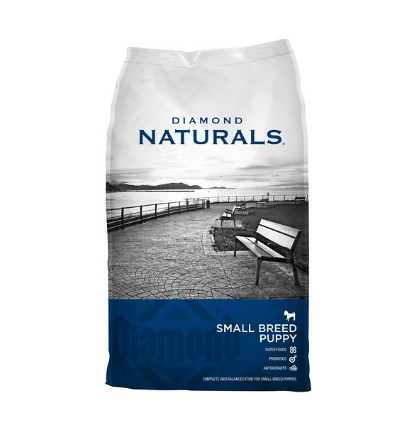 Puppy Diamond Dog Food >> Diamond Naturals Small Breed Puppy Formula Dry Dog Food, 40-lb bag - Chewy.com