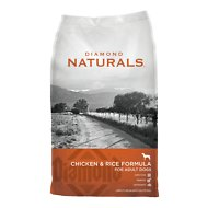 Diamond Naturals Chicken & Rice Formula Adult Dry Dog Food, 40-lb bag