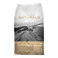 Diamond Naturals Light Formula Dry Dog Food, 30-lb bag