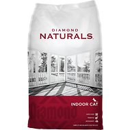 Diamond Naturals Indoor Formula Dry Cat Food, 18-lb bag
