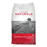 Diamond Naturals Lamb Meal & Rice Formula Adult Dry Dog Food, 40-lb bag