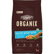 Castor & Pollux Organix Healthy Weight Recipe with Chicken, Brown Rice & Flaxseed Adult Dry Dog Food, 14.5-lb bag