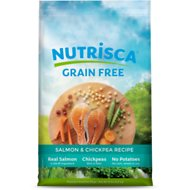 Nutrisca Grain-Free Salmon & Chickpea Recipe Dry Dog Food, 15-lb bag