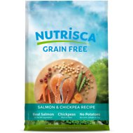 Nutrisca Grain-Free Salmon & Chickpea Recipe Dry Dog Food, 28-lb bag