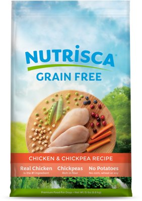5. Nutrisca Grain-Free Chicken & Chickpea Recipe Dry Dog Food
