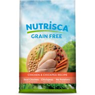 Nutrisca Grain-Free Chicken & Chickpea Recipe Dry Dog Food, 15-lb bag
