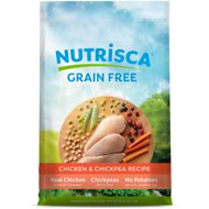 Nutrisca Grain-Free Chicken & Chickpea Recipe Dry Dog Food, 28-lb bag