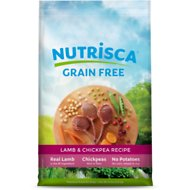 Nutrisca Grain-Free Lamb & Chickpea Recipe Dry Dog Food, 15-lb bag