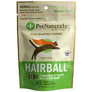 Pet Naturals of Vermont Hairball Cat Chews, 45 count