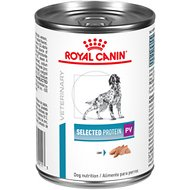 Royal Canin Veterinary Diet Selected Protein Adult PV Canned Dog Food, 13.6-oz, case of 24