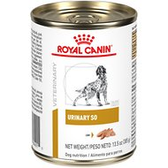 Royal Canin Veterinary Diet Urinary SO Canned Dog Food, 13.6-oz, case of 24
