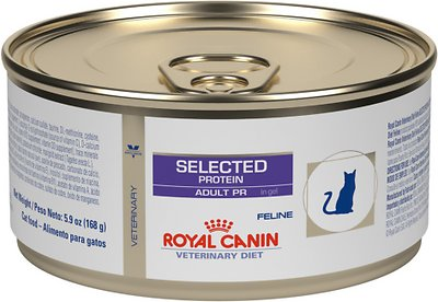 5. Royal Canin Veterinary Diet Selected Protein Adult PR Canned Cat Food